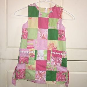 ✨Lilly Pulitzer Patchwork Shift Dress